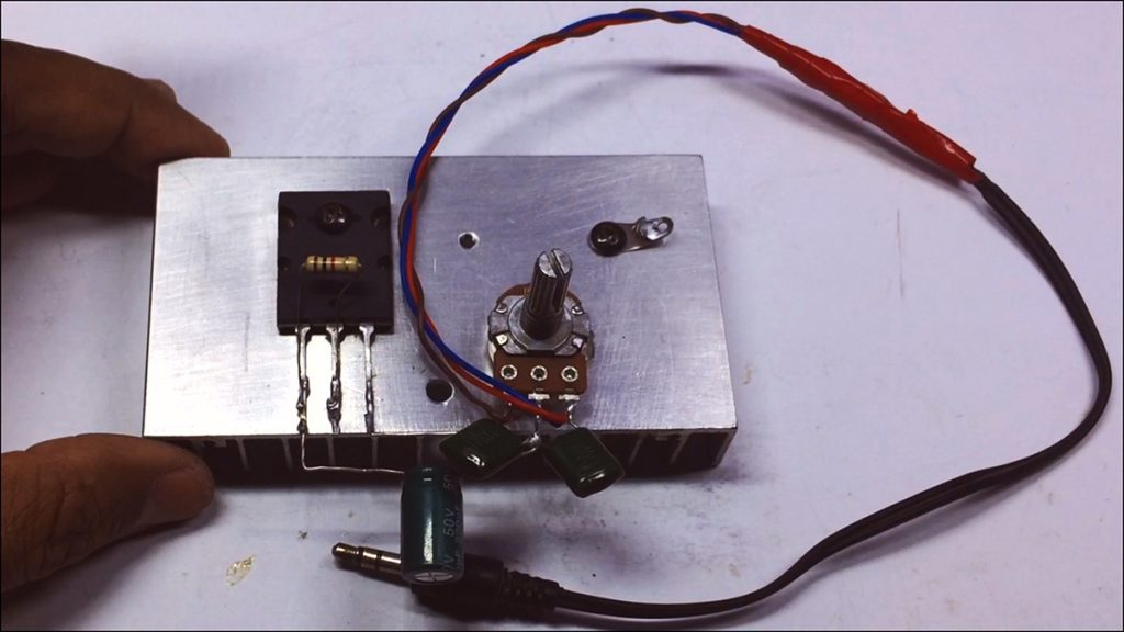 C5200 Bass Amplifier DIY Image4