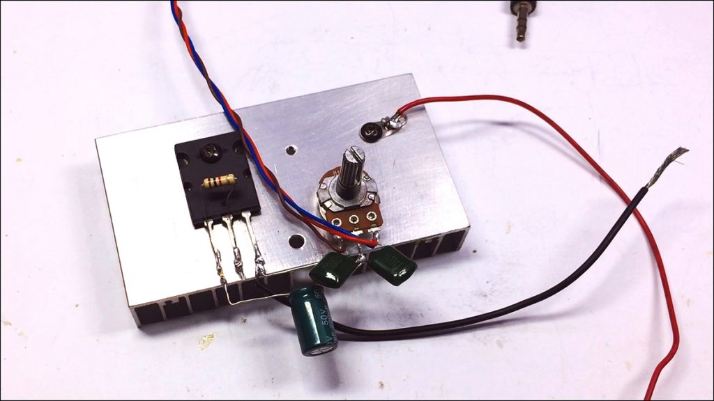 C5200 Bass Amplifier DIY Image5