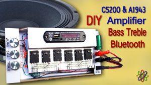 c5200 a1943 amplifier diy homemade