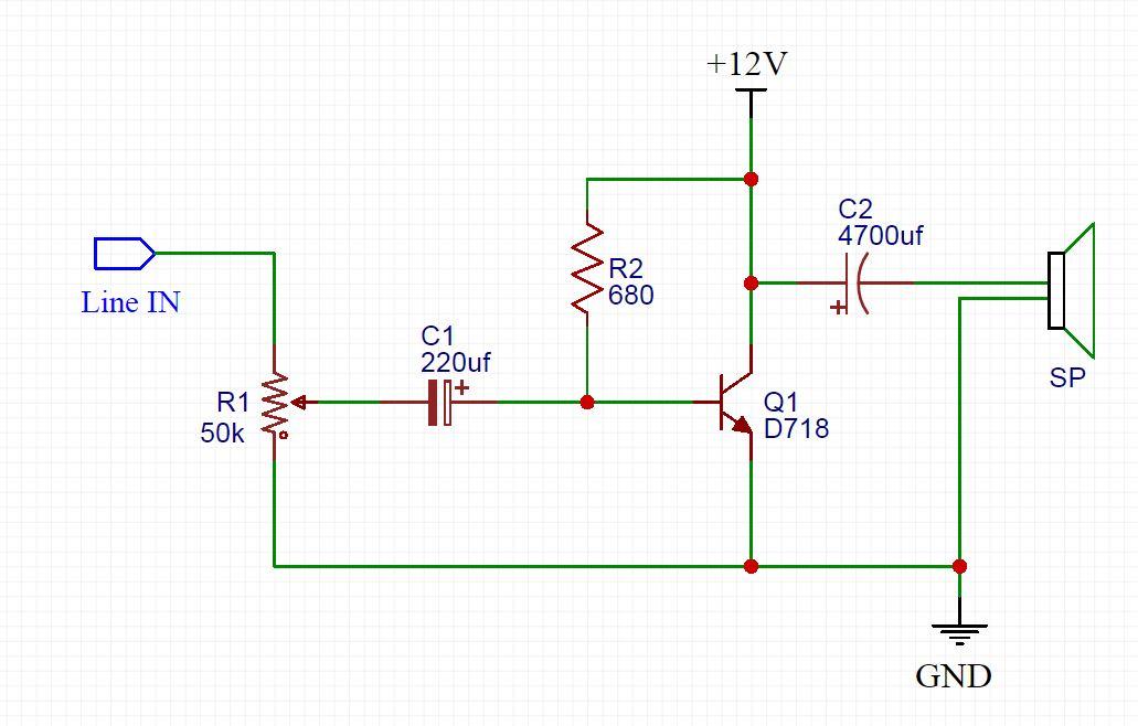 D718 amplifier heavy bass controller - TRONICSpro   Bass Amp Wiring Diagram      TRONICSpro