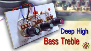 DIY Bass Treble Volume Homemade Thumbnail