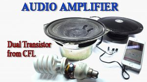 13003 amplifier DIY homemade dual transistor