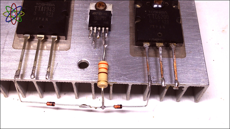 C5200 A1943 TDA2030 Amplifier Image2