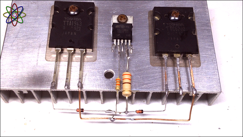 C5200 A1943 TDA2030 Amplifier Image3