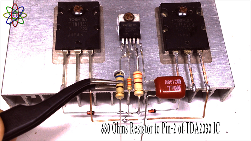 C5200 A1943 TDA2030 Amplifier Image4