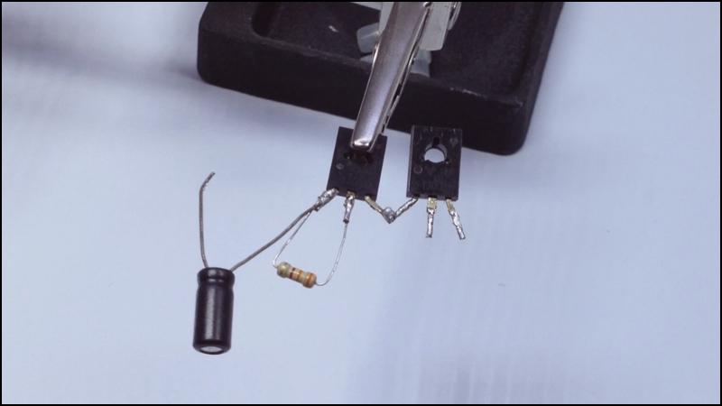 13003 amplifier diy homemade Image5