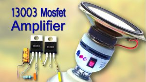 Convert CFL amplifier DIY homemade