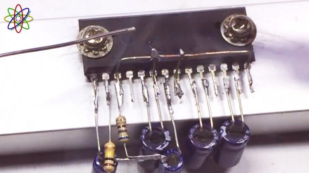 DIY LA4440 Bass Amplifier Image2