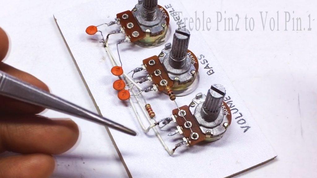 DIY LA4440 Bass Amplifier Image3