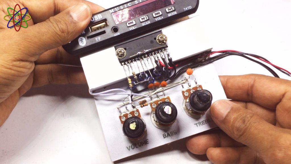 DIY LA4440 Bass Amplifier Image5