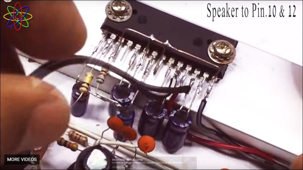 DIY LA4440 Bass Amplifier Image4