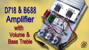 D718 B688 Powerful Amplifier DIY Homemade