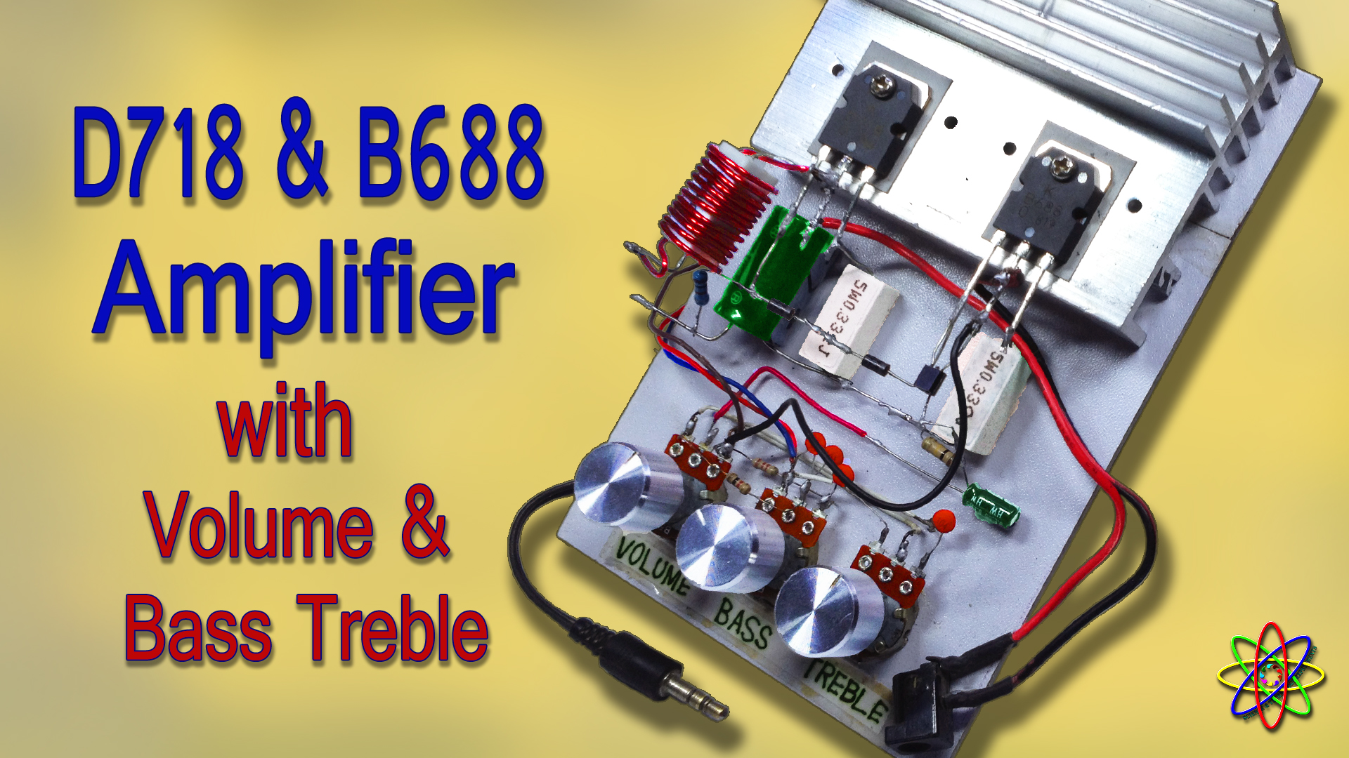 D718 B688 Powerful Amplifier DIY Homemade