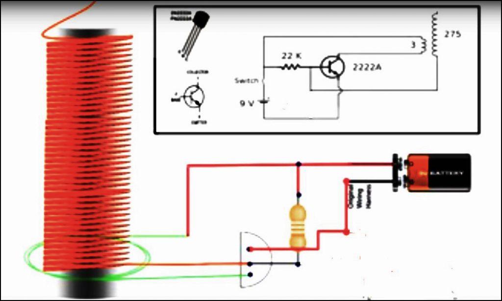 Mini Tesla Coil DIY Circuit Diagram-2