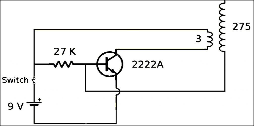 Mini Tesla Coil DIY Circuit Diagram-1