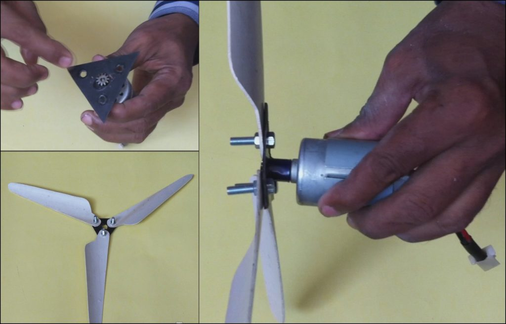 Mini Wind Turbine DIY 04