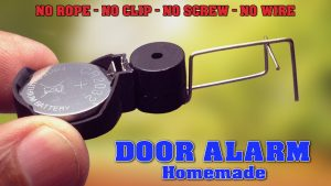 DIY Homemade Door Alarm - Electronic Project