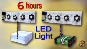 Rechargeable Emergency LED Light DIY Homemade