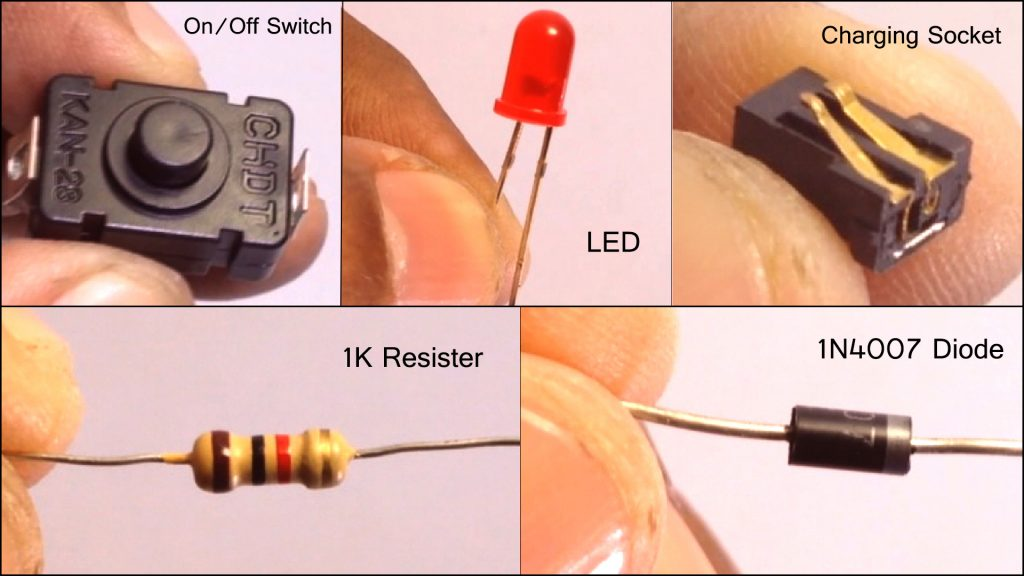 Rechargeable LED Light DIY 02