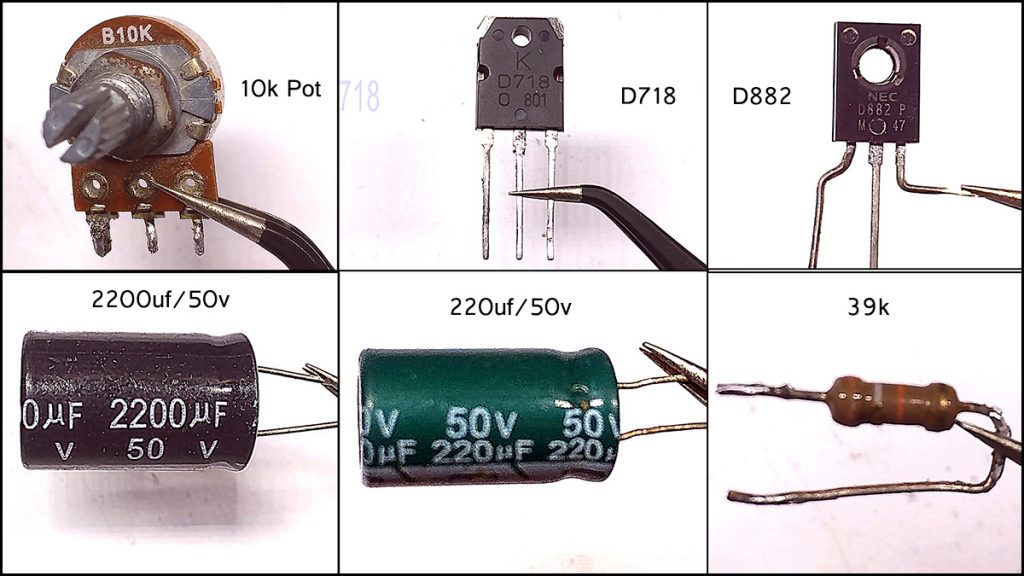 DIY D718 D882 amplifier01