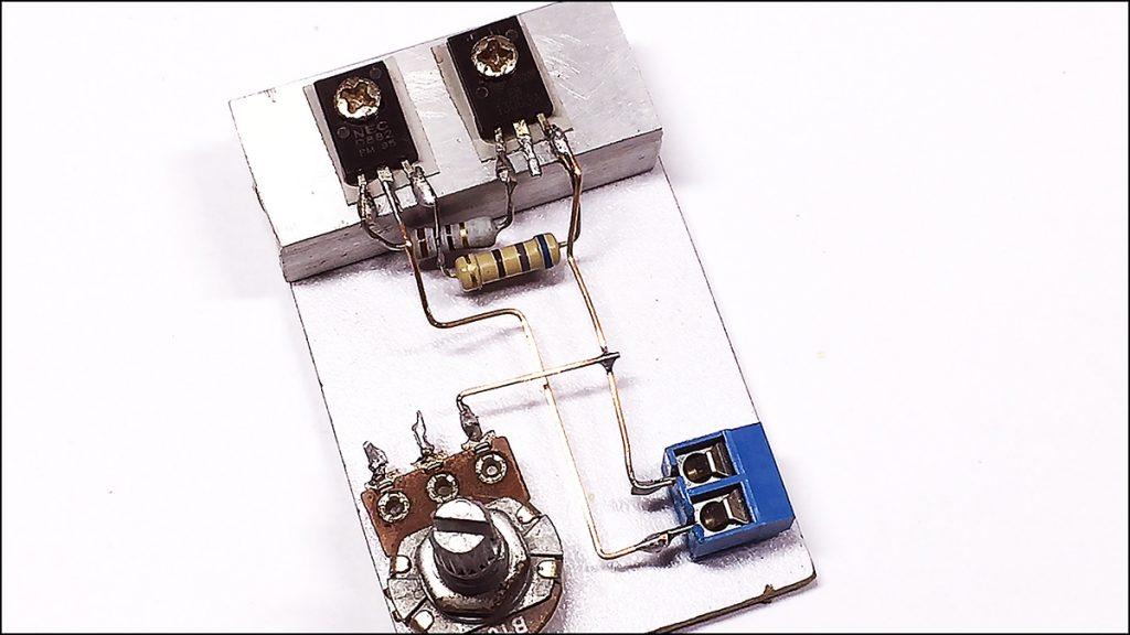 13003 transistor amplifier DIY 02