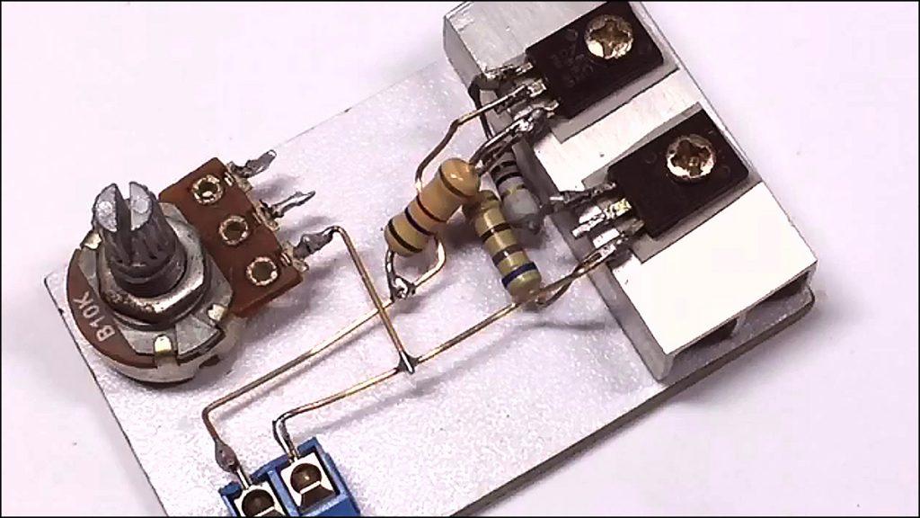 13003 transistor amplifier DIY 03