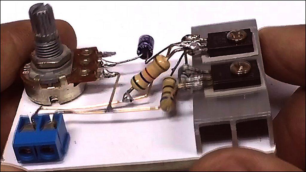 13003 transistor amplifier DIY 08