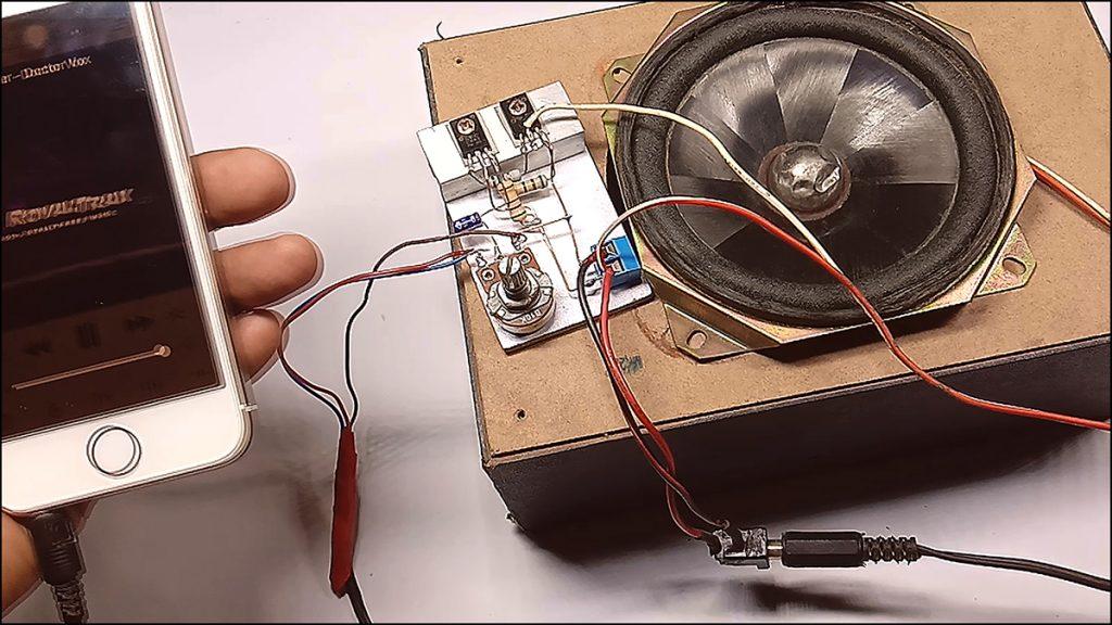 13003 transistor amplifier DIY 06